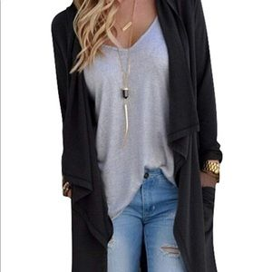 Sweaters - Cardigan duster